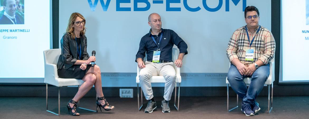 tavola rotonda sul food - Webecom 2019